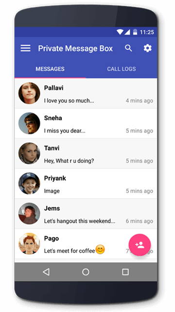 Private Sms Box Hide Texts In Your Android Phone